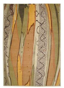 Tracy Glover Objects & Lighting - lazy cane rug - Modern Rug