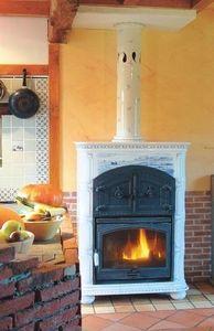 Ceramique Regnier - poele faience avec four - Ceramic Heater