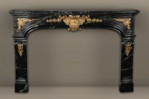 MAISON & MAISON - noailles, cheminée sur mesure en marbre - Fireplace Mantel