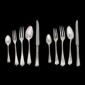 Expertissim - partie de ménagère en argent. emile puiforcat. 82  - Cutlery Set