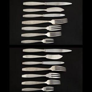 Expertissim - boulenger. partie de service de couverts en métal  - Cutlery Set