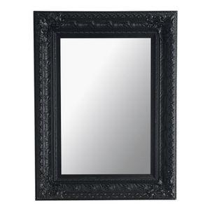 MAISONS DU MONDE - miroir marquise noir 95x125 - Mirror