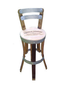 Douelledereve - feuillette. - Bar Chair