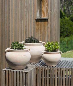 POTERIE GOICOECHEA - boule anses - Flower Pot