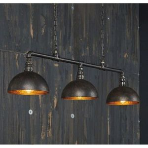 Mathi Design - triple suspension bar industrielle - Hanging Lamp