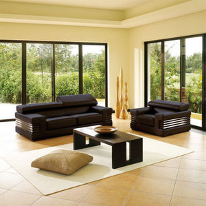 Canapé Show - canapé 2pl. grand luxe. cuir 2.5mm - 2 Seater Sofa