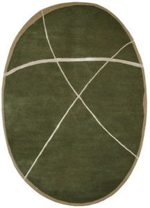 PASCALE GAUTHIER - galet-o bronze - Modern Rug