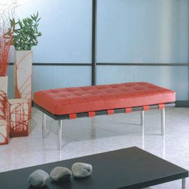 banquette deux places - Bench - Chromed steel - Classic Design ...