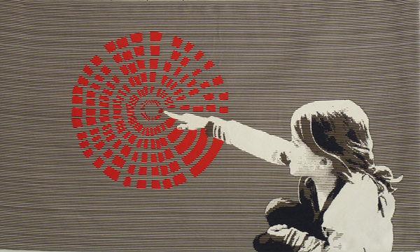 NEOLICE - Modern tapestry-NEOLICE-Là-Bas E1