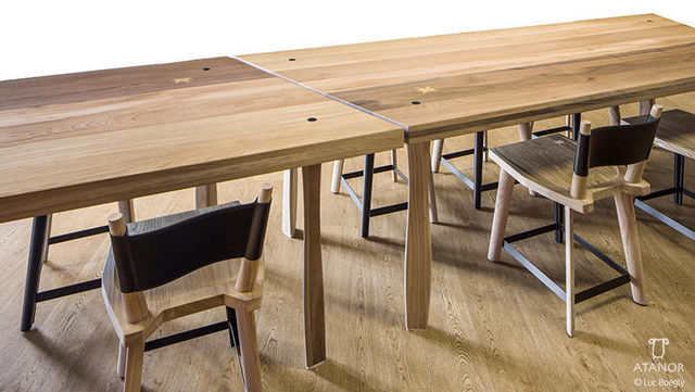 ATANOR - Rectangular dining table-ATANOR-AlSa