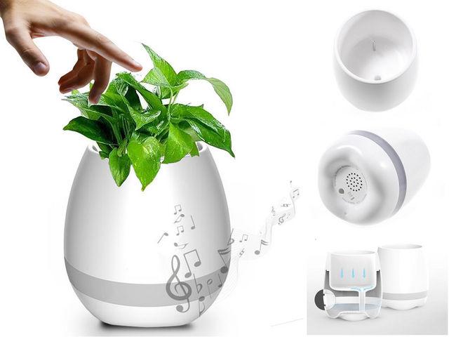 I-TOTAL - Speaker-I-TOTAL-musical flower pot