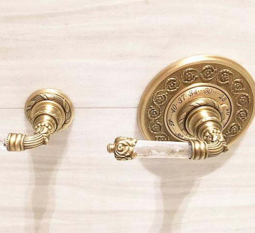 Volevatch - Two-hole bath mixer-Volevatch-Marie Antoinette