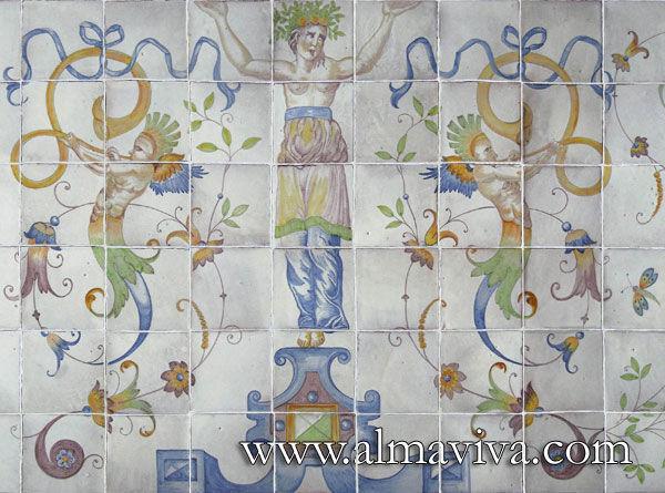 Almaviva - Ceramic tile-Almaviva-Cariatide