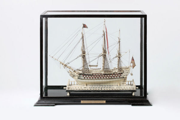 Peter Finer - Boat model-Peter Finer-H.M.S. GLORY