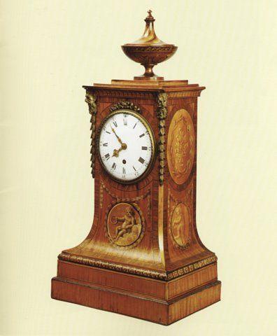 JOHN CARLTON-SMITH - Desk clock-JOHN CARLTON-SMITH-Benjamin Vulliamy, London