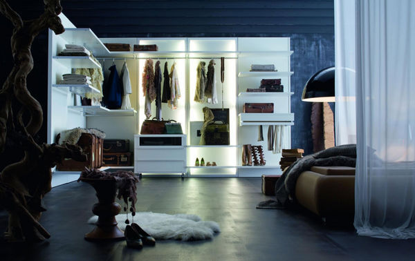 ROCHE BOBOIS - Corner dressing wardrobe-ROCHE BOBOIS-Dress Code