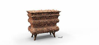 BOCA DO LOBO - Bedside table-BOCA DO LOBO-Crochet