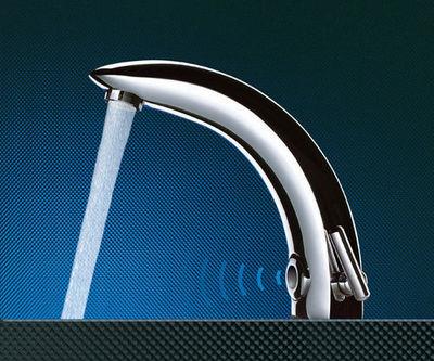 DELABIE - Electronic basin mixer tap-DELABIE-TEMPOMATIC 2