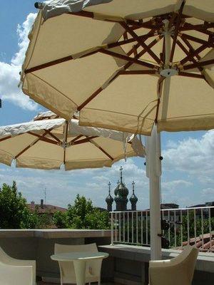 Edengarden - Offset umbrella-Edengarden-GEMELLI STEEL