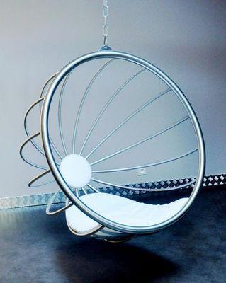 TST Mobilier - Hanging armchair-TST Mobilier-Crysalid Inox