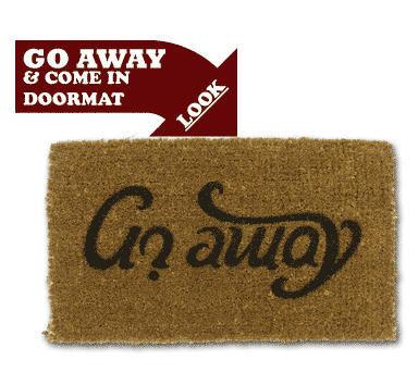 Suck Uk - Doormat-Suck Uk-Come in/Go away