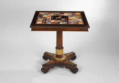 F P FINE ART - Side table-F P FINE ART-Occasional Table