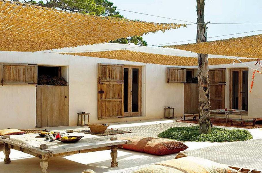 LAVELERIA Schattentuch Sonnenschirme Gartenmöbel  |