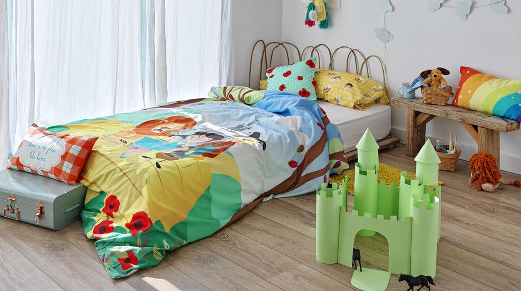 HAPPY FRIDAY Kinderbettwäscheset Kinderbettwäsche Kinderecke  |