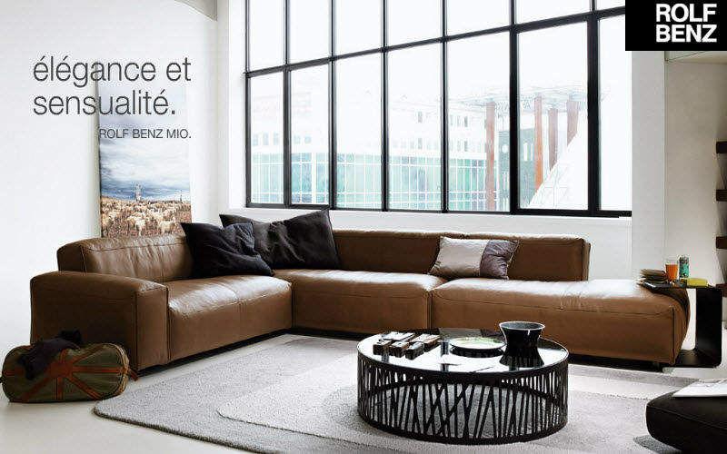 Rolf Benz Ecksofa Sofas Sitze & Sofas Wohnzimmer-Bar | Design Modern