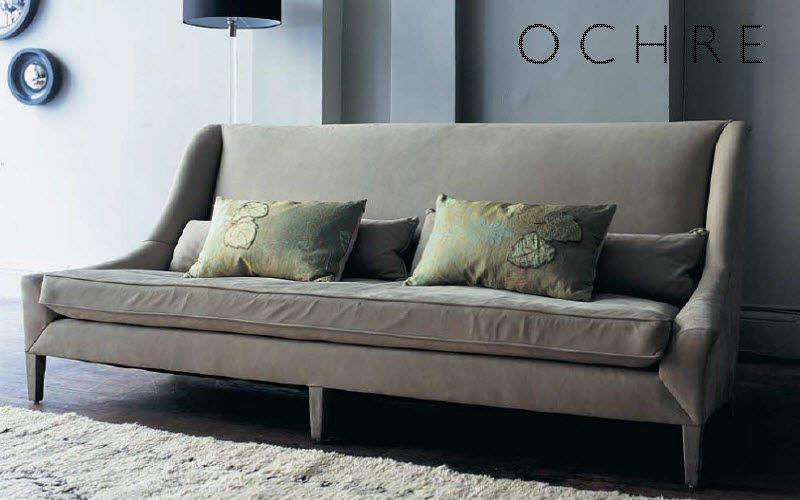 Ochre Sofa 3-Sitzer Sofas Sitze & Sofas Wohnzimmer-Bar   Design Modern