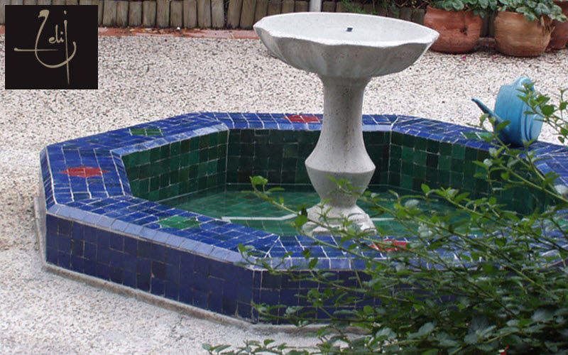 Atelier Zelij Becken Verschiedenes Gartenhäuser, Gartentore... Garten-Pool | Exotisch