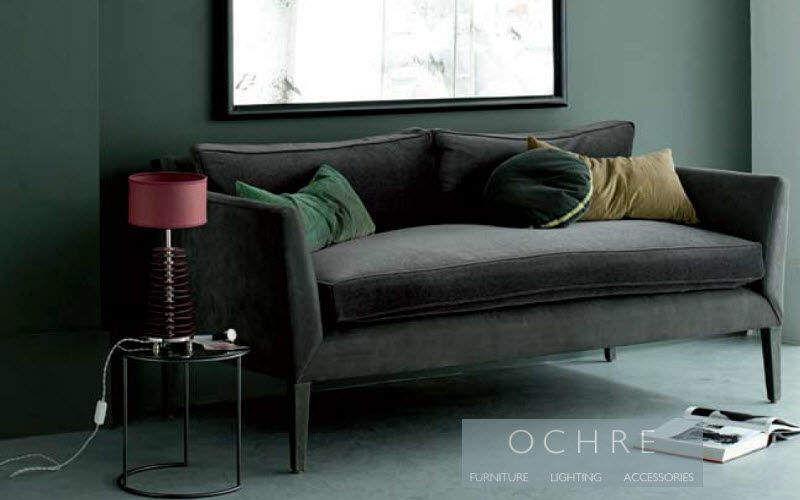 Ochre Sofa 2-Sitzer Sofas Sitze & Sofas Wohnzimmer-Bar   Design Modern