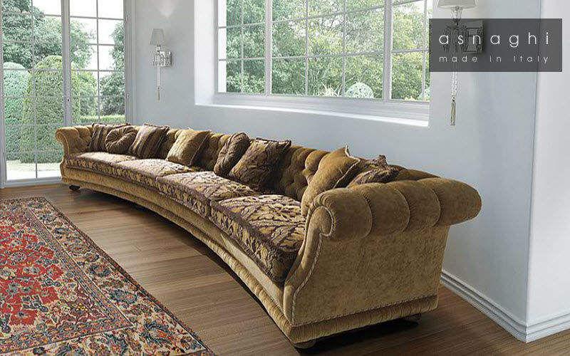 Asnaghi Sofa 4-Sitzer Sofas Sitze & Sofas  | Klassisch