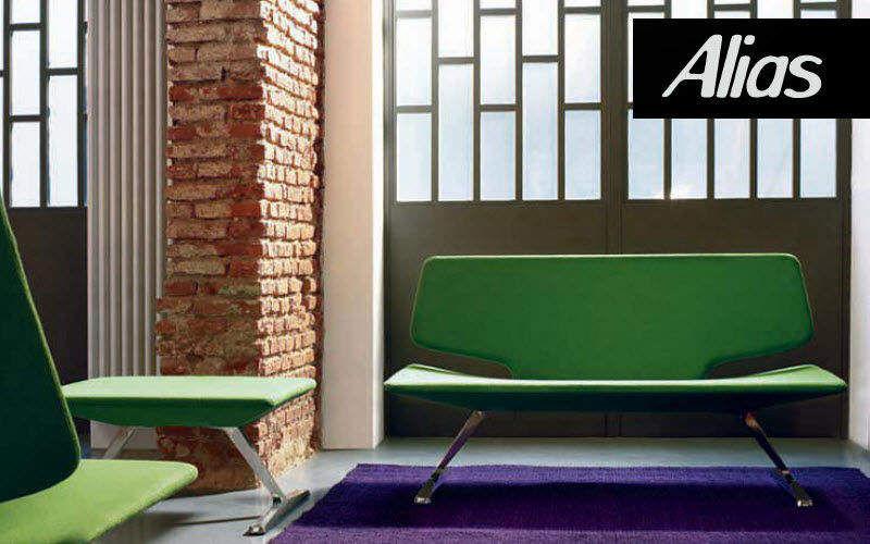 ALIAS Gepolsterte Bank Sitzbänke Sitze & Sofas  |