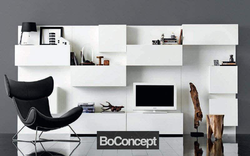 BoConcept France Wohnzimmer-Schrankwand Truhen Anrichten Regale & Schränke  |