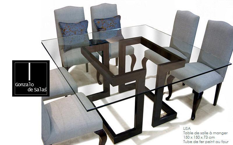Gonzalo De Salas Quadratischer Esstisch Esstische Tisch  |