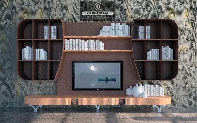 Carpanelli Wohnzimmerschrank Truhen Anrichten Regale & Schränke Wohnzimmer-Bar | Unkonventionell