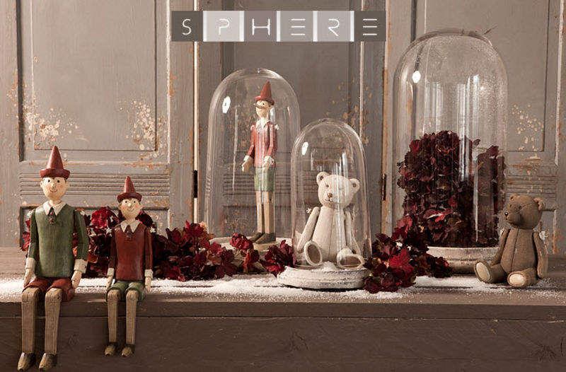 Sphere Inter Glasglocke Verschiedene Ziergegenstände Dekorative Gegenstände  |