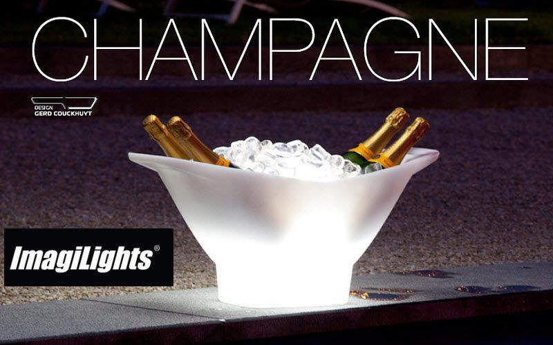 IMAGILIGHTS Champagnerschale Getränkekühler Tischzubehör  |