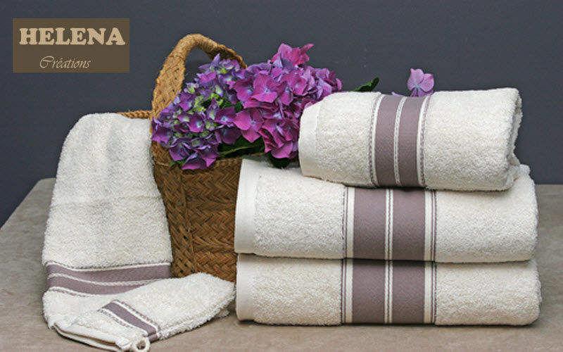 HELENA CREATIONS Handtuch Badwäsche Haushaltswäsche   