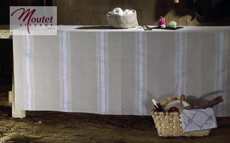Tissage Moutet Rechteckige Tischdecke Tischdecken Tischwäsche  |