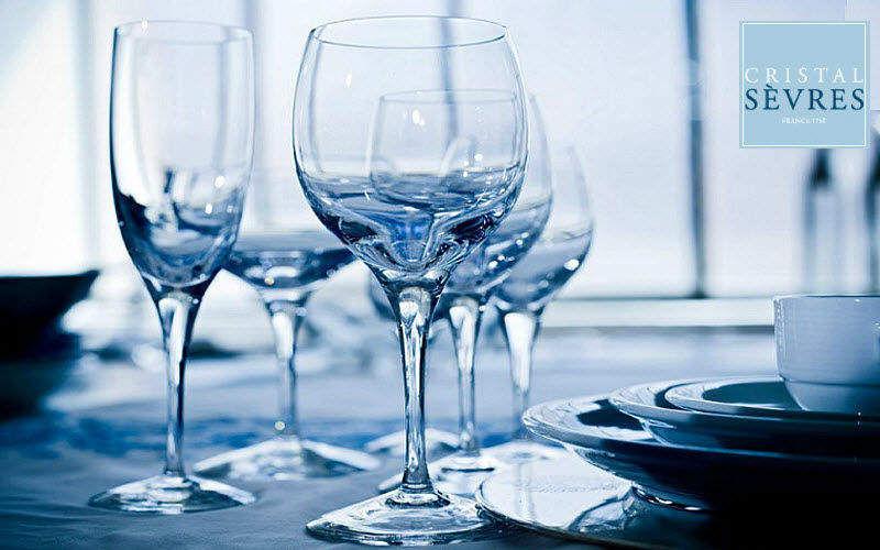 CRISTAL de SÈVRES Stielglas Gläser Glaswaren  |