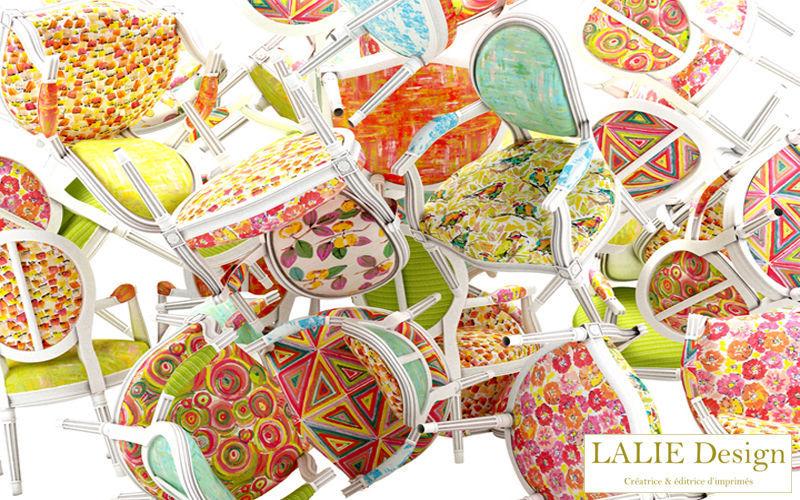 LALIE DESIGN Sitzmöbel Stoff Möbelstoffe Stoffe & Vorhänge Esszimmer   Design Modern