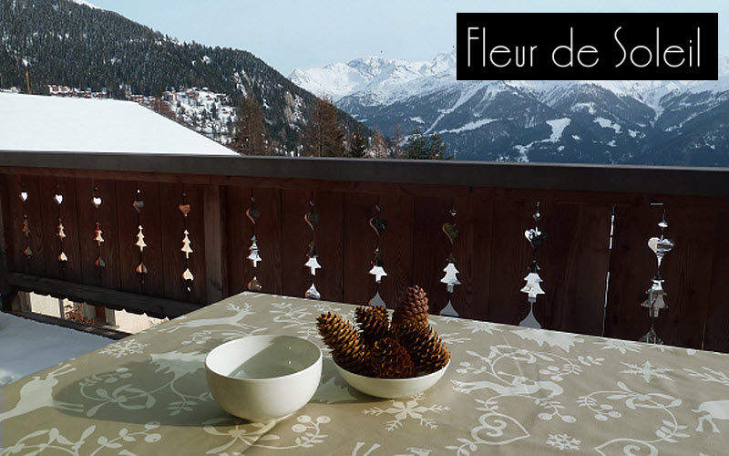 FLEUR DE SOLEIL Rechteckige Tischdecke Tischdecken Tischwäsche Terrasse |