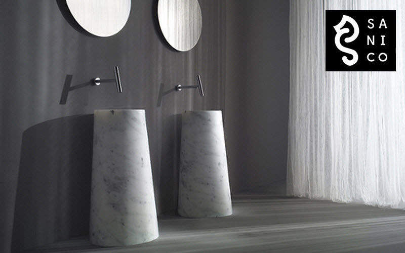 SANICO Waschbecken auf Füße Waschbecken Bad Sanitär Badezimmer |