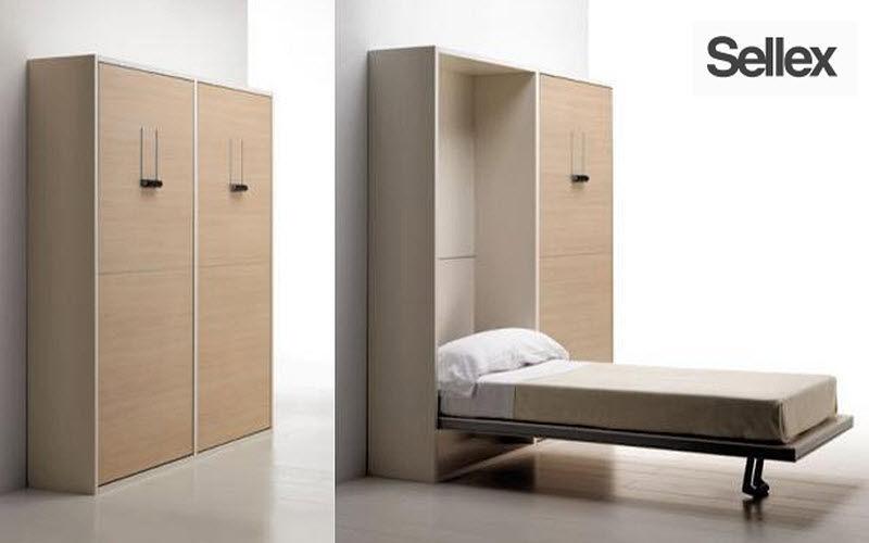 SELLEX Hochklappbares Bett Klappbetten Betten  |