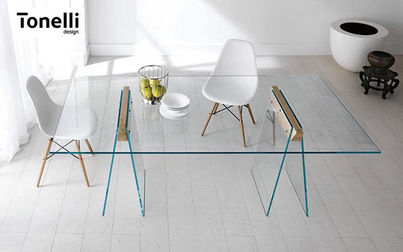 Tonelli Rechteckiger Esstisch Esstische Tisch  |