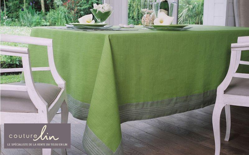 COUTURE LIN Rechteckige Tischdecke Tischdecken Tischwäsche  |