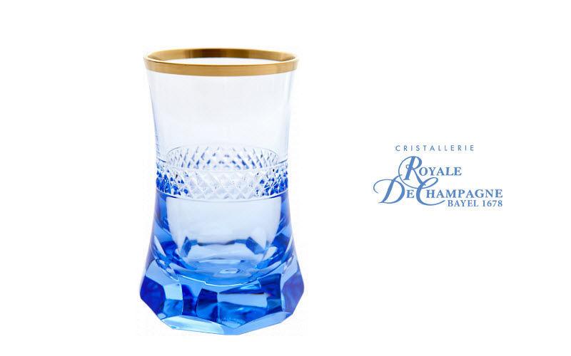 Cristallerie Royale De Champagne Teeglas Gläser Glaswaren  |