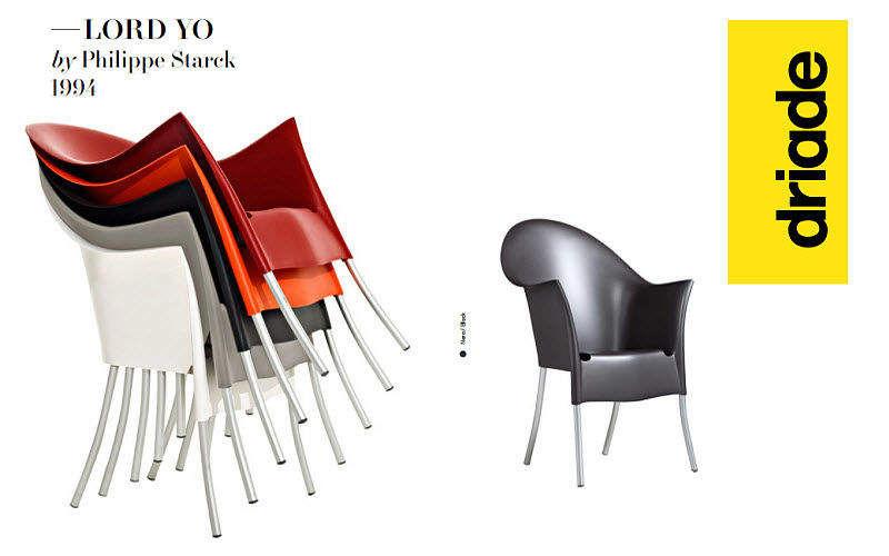 DRIADE Stapelbare Sessel Sessel Sitze & Sofas  |